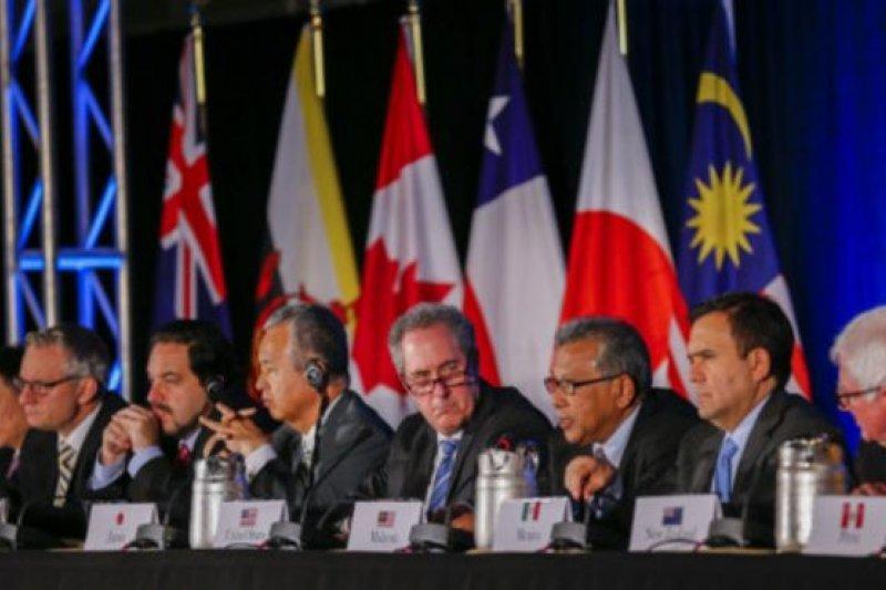 TPP簽署國12國,佔世界經濟總量的40%。(BBC中文網)