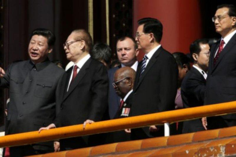 中國三代領導人。(BBC中文網)