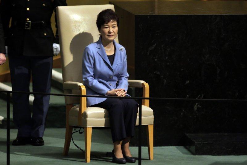 南韓總統朴槿惠13日啟程訪美,16日與歐巴馬進行會談。(美聯社資料照)