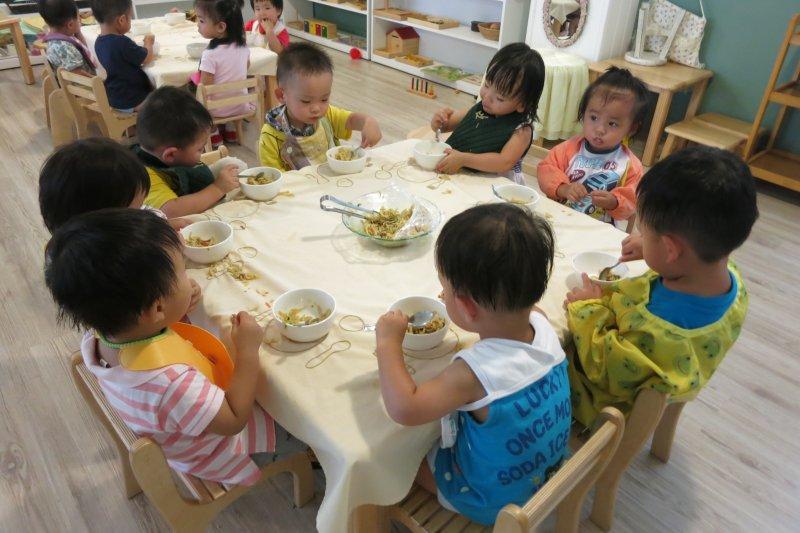 台北市公辦托嬰中心(公托)大安托嬰中心。台北市社會局提供