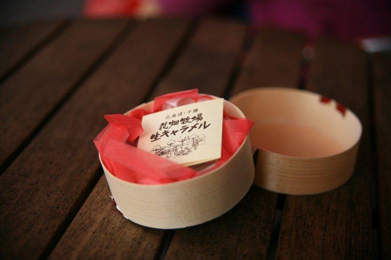 大家到北海道必買的花畑牧場名產生焦糖(圖/諾雅爾菲@flickr)