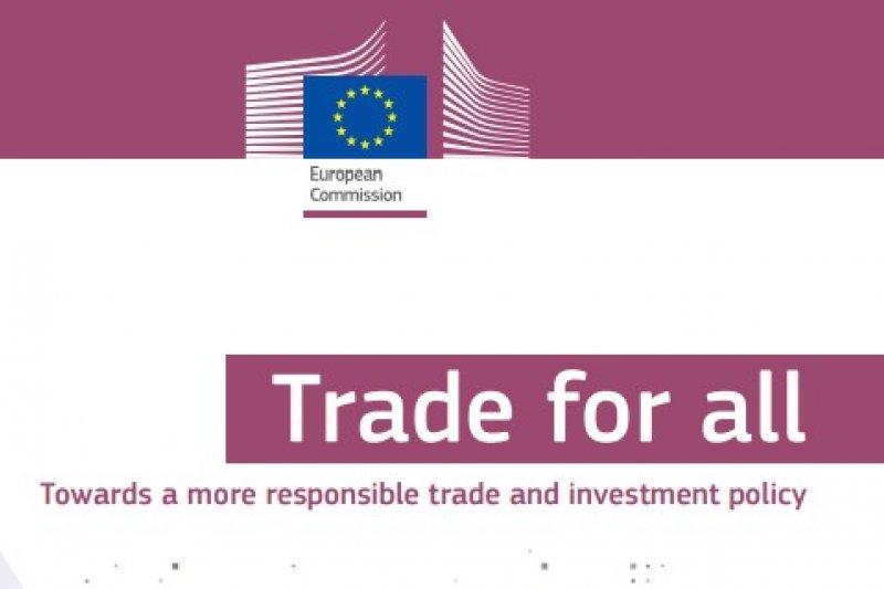 歐盟執委會貿易總署14日公布未來5年歐盟貿易政策報告,報告中明確指出將「嘗試啟動與台灣的投資協定談判」。(取自歐盟貿易政策報告)