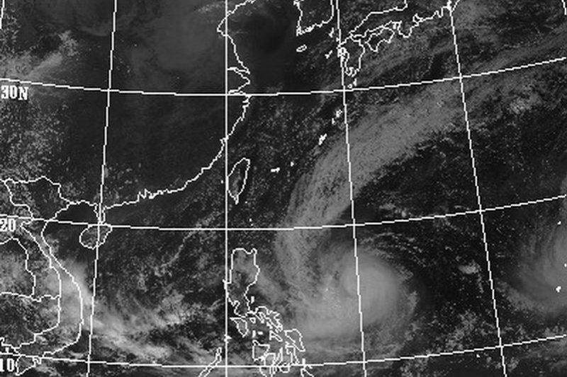 今年第24號颱風「巨爵」恐襲台,10月才剛過半就已經有4個颱風,這數字已高於歷年10月的平均值3.7個。(取自中央氣象局網站)