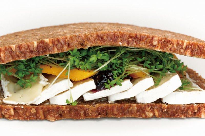 三明治內餡才是精華,別吃麵包了(圖/大是文化提供)