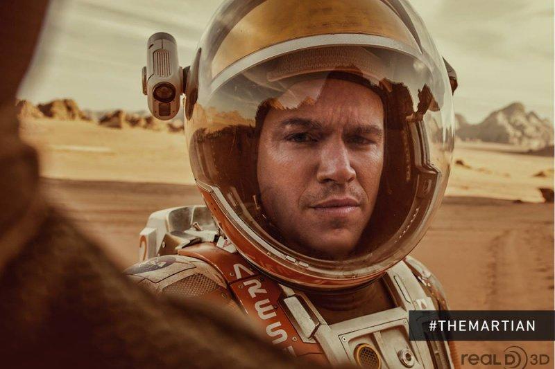 馬克內心的強大力量,正是讓他可以存活下來的重要裝備(圖/The Martian臉書)