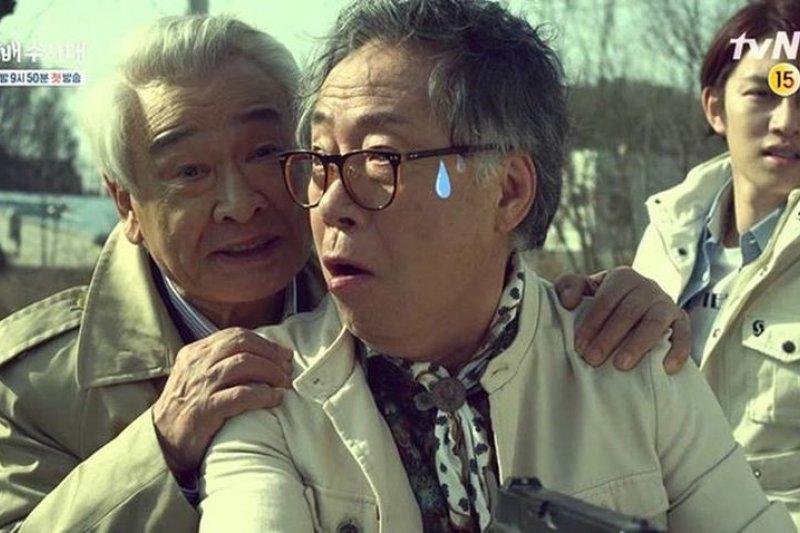 韓劇裡沒有告訴你韓國老人的真實面向。(取自作者臉書)