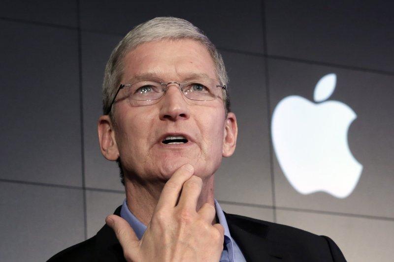 針對旗下員工傳出涉及種族歧視的指控,蘋果執行長庫克震怒譴責。(美聯社)