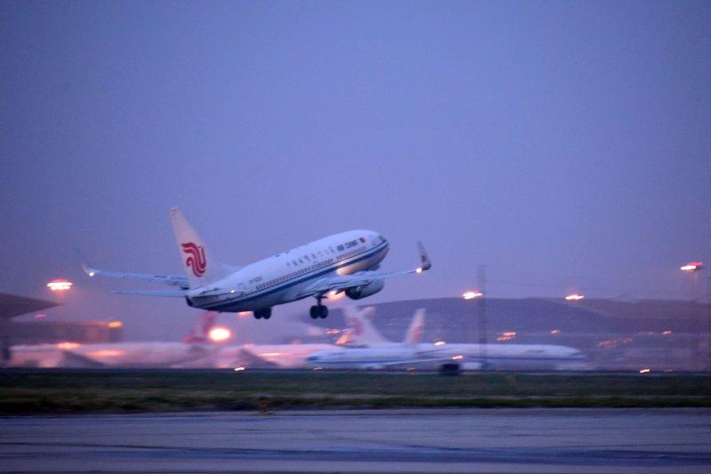 北京首都機場(新華社)