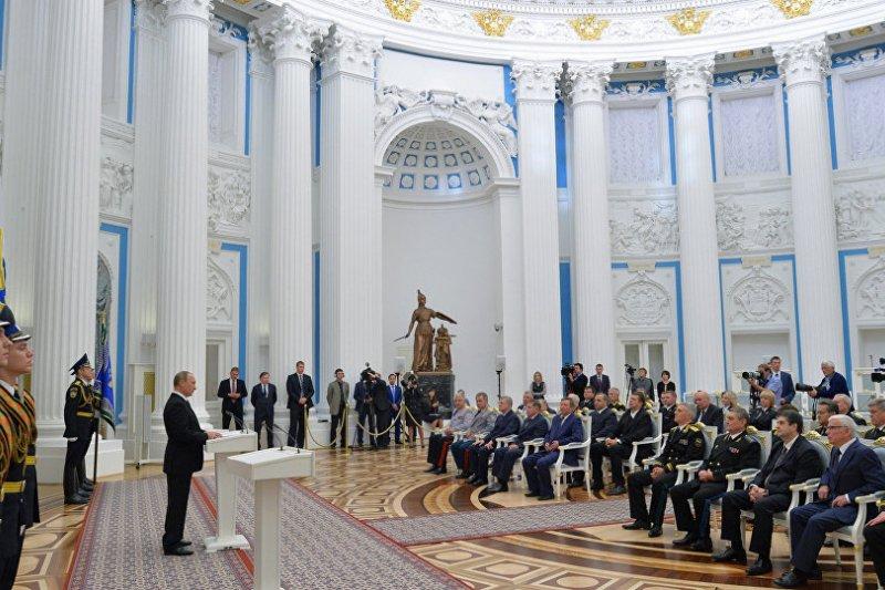 普京20日對俄國高級軍官表示,俄國準備有效回應恐怖分子與其他任何威脅。
