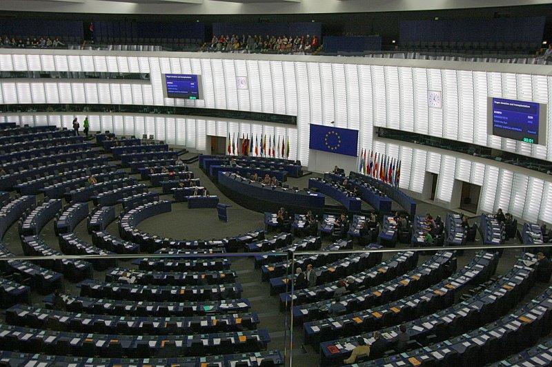 歐洲議會將在當地時間27日表決,確定是否執行新網路規範。(取自網路)