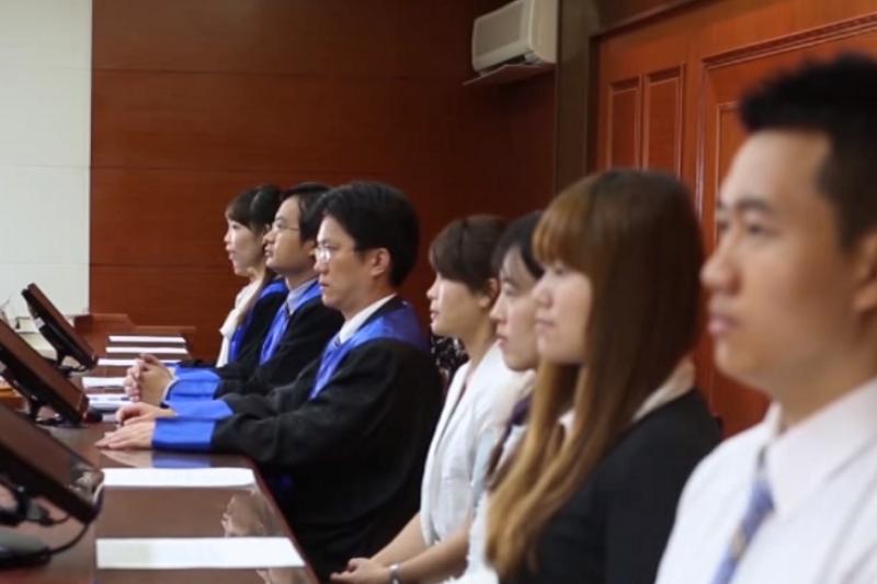 截取自司法院人民觀審制宣導影片。