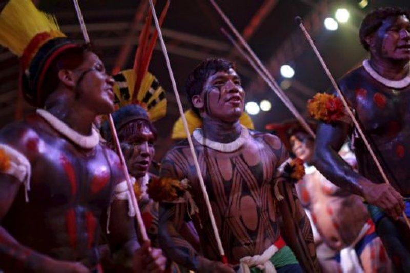 來自巴西國內的24個部落的原住民也將參賽。(BBC中文網)