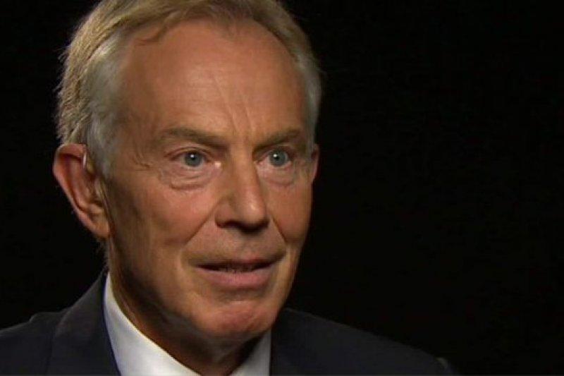 英國前首相布萊爾首度位2003年出兵伊拉克表示歉意。(取自影片)