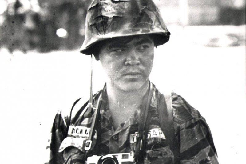 1972年在越南拍攝新聞照片的黃幼公(美聯社)