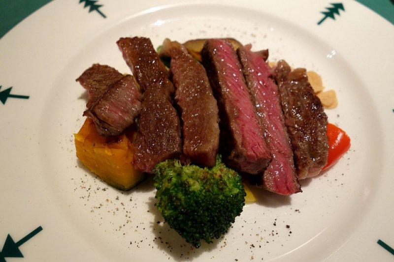 神戶牛排是殿堂級牛排。