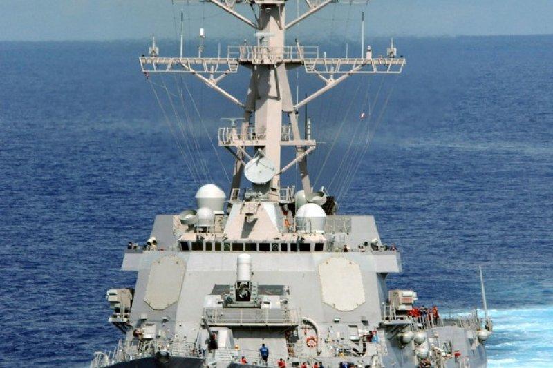 拉森號。(翻攝美國海軍官網)