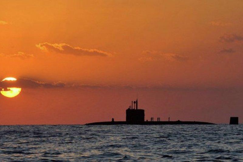 美軍防範俄羅斯潛艦破壞海底電纜。(取自推特)