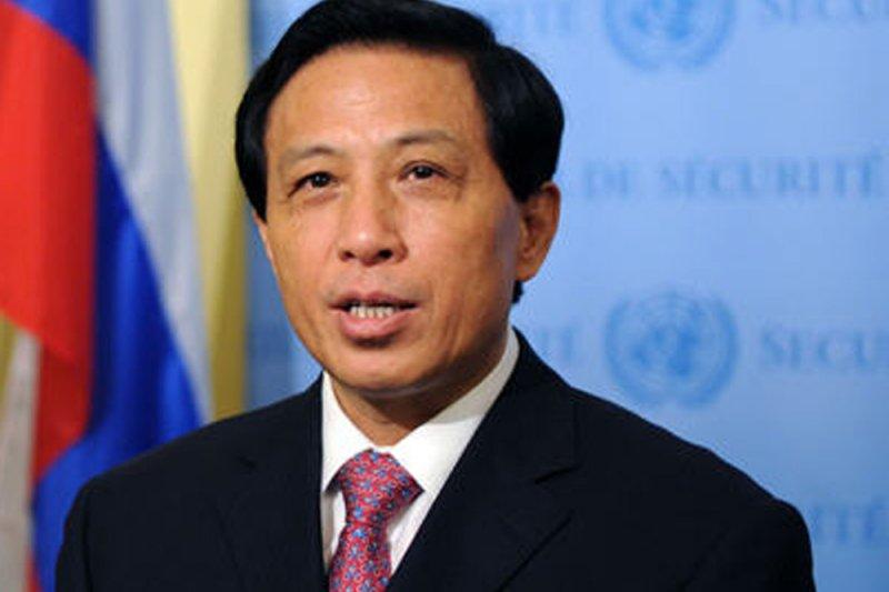 中國外交部副部長張業遂。