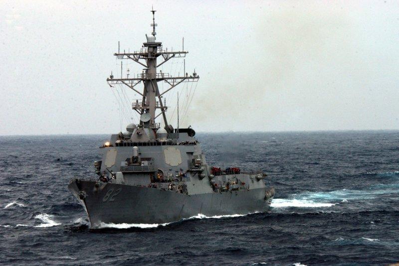 美國海軍飛彈驅逐艦「拉森號」(USS Lassen)。(取自維基百科)