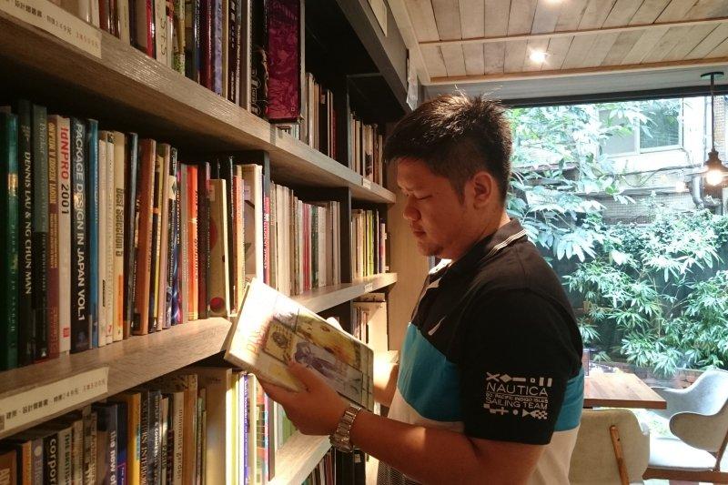 茉莉書店第二代經營者-資訊總監蔡維元。(圖/謝繕聯)