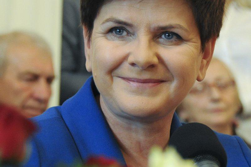 波蘭新任總理希德沃(Beata Szydło)。(美聯社)