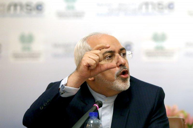 伊朗外交部長札里夫(Mohammad Javad Zarif)(美聯社)