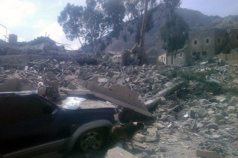 無國界醫生於葉門支援的醫院遭炸毀,整間醫院都被夷為平地。(Miriam Czech、MSF)