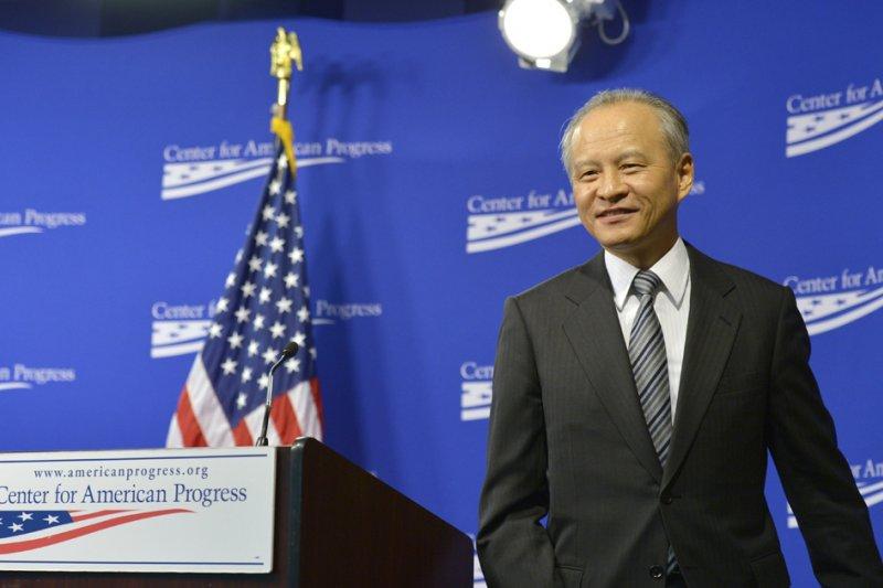 中國駐美大使崔天凱。