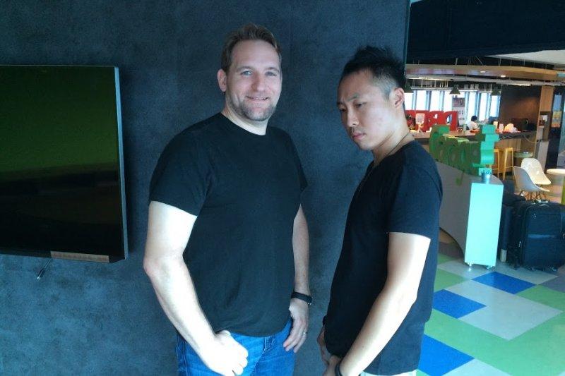 Quest Venture Partners 合夥人 Maarten 't Hooft、Asia Community Partner 陳泰谷