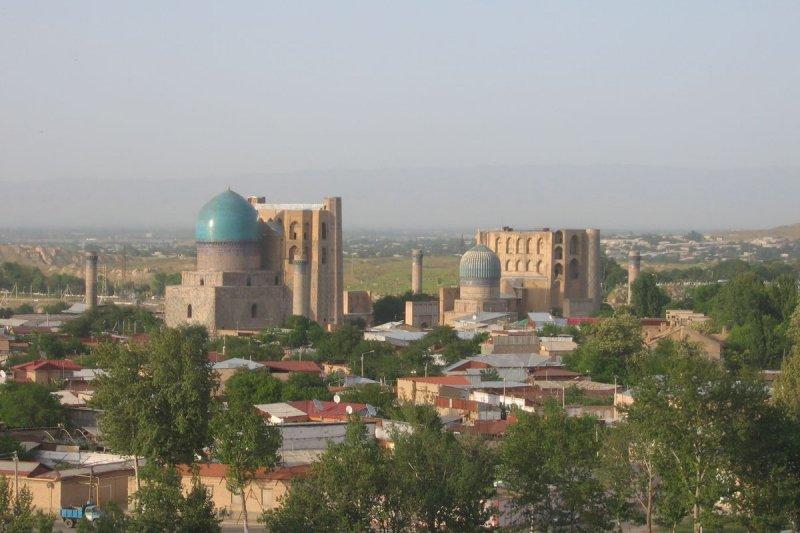 烏茲別克歷史名城撒馬爾罕(Samarkand)(維基百科)