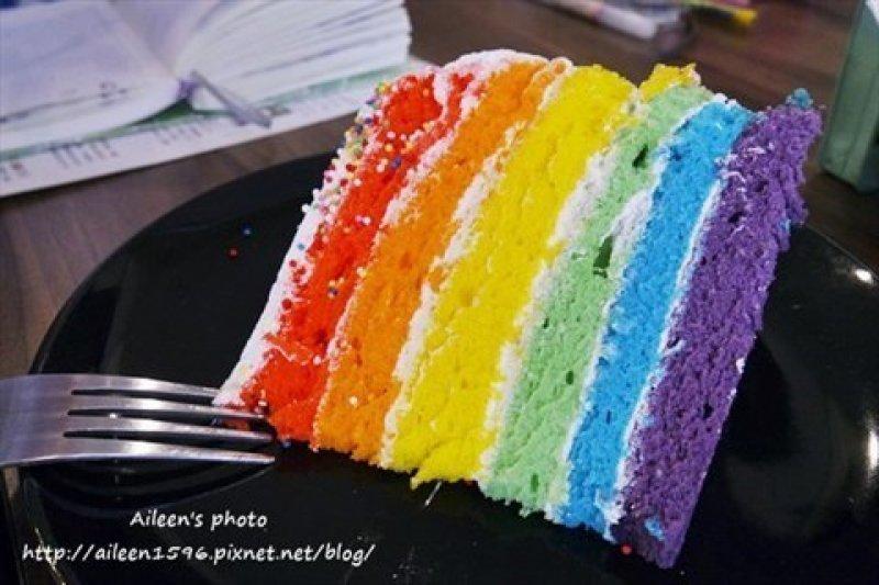 彩虹的味道是什麼呢?快來嚐嚐看吧!(圖/Aileen_Hsu)
