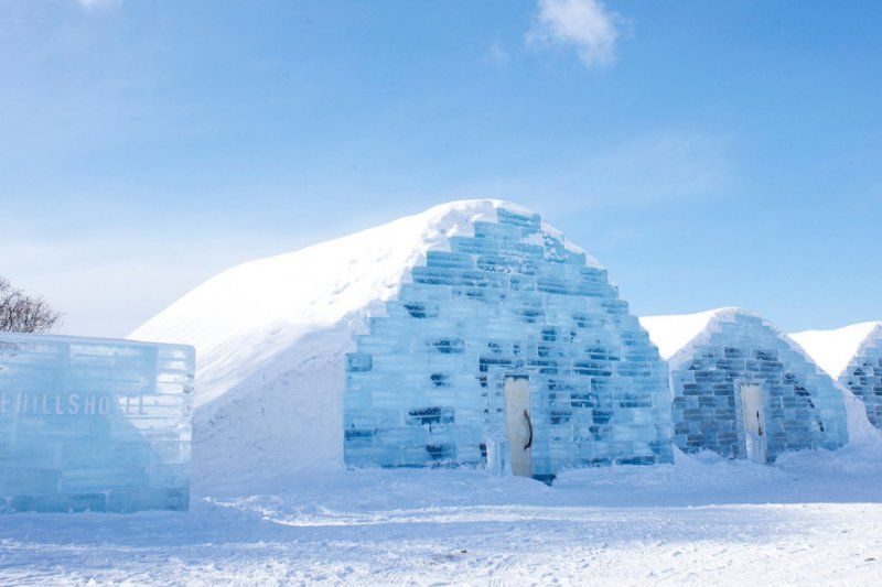 到北海道體驗用冰製造的旅館,宛如置身雪國(圖/www.welcome.city.sapporo.jp)