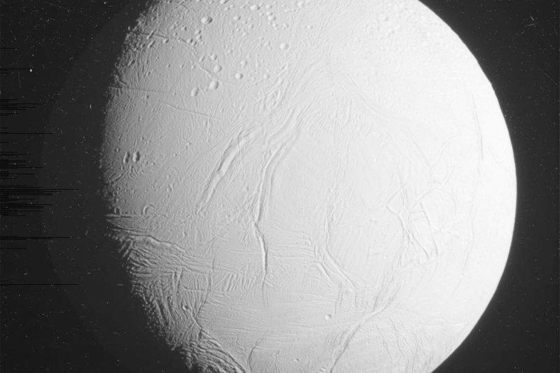 土衛二(Enceladus)。(美聯社)
