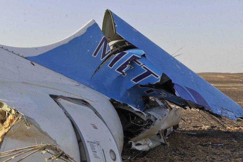 俄羅斯客機失事現場曝光,慘不忍睹。(美聯社)