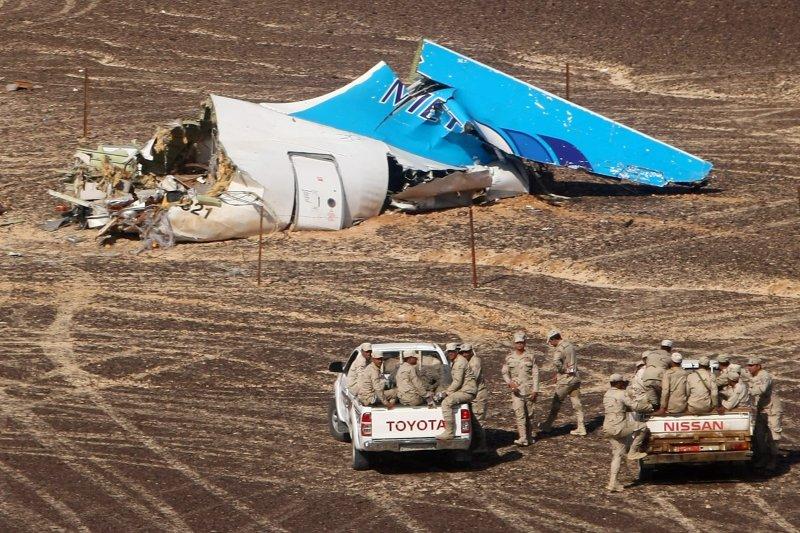 俄羅斯客機墜毀在埃及的西奈半島(美聯社)