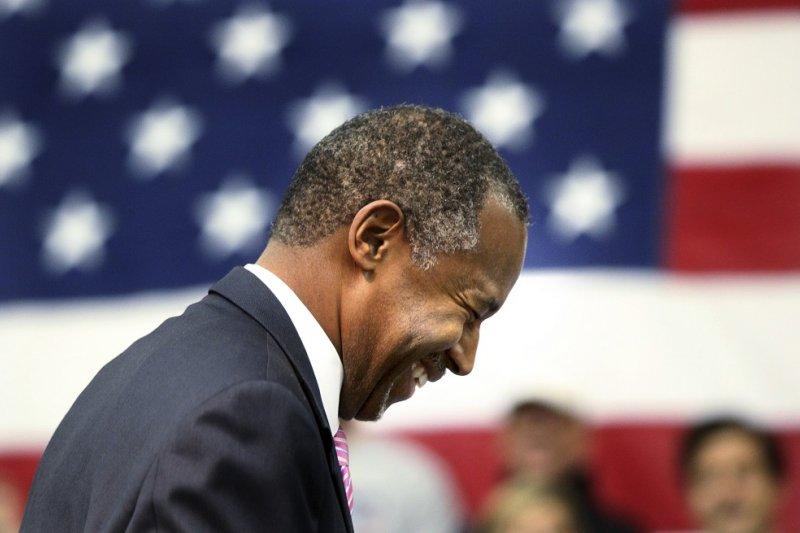 美國共和黨總統參選人卡森(美聯社)