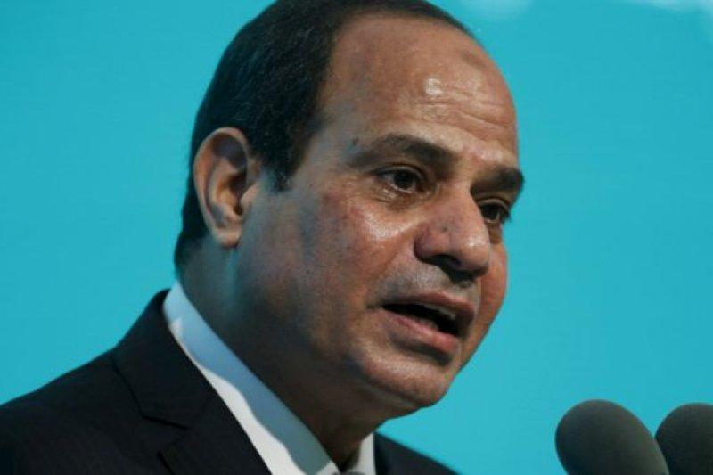 埃及總統塞西在訪問英國前夕接受BBC訪問。(BBC中文網資料照片)