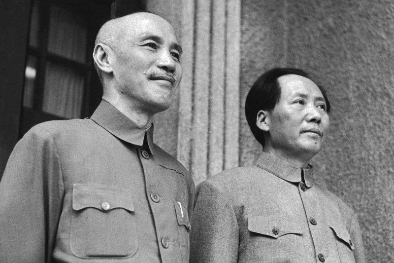 「蔣中正最大心頭之患,就是他最大的對手毛澤東⋯⋯」(取自維基百科)