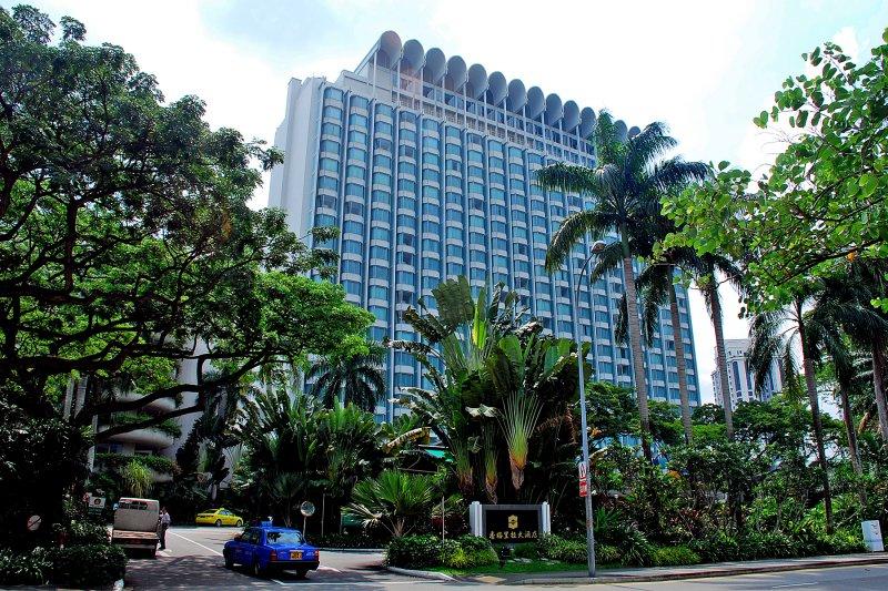 馬習會地點,新加坡香格里拉大酒店(取自網路)