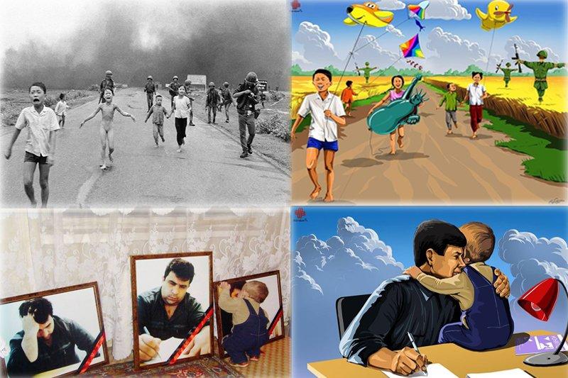 如果世界上沒有戰亂,這些孩子會擁有什麼樣的童年?(圖/Gunduz_Aghayev粉絲專頁)