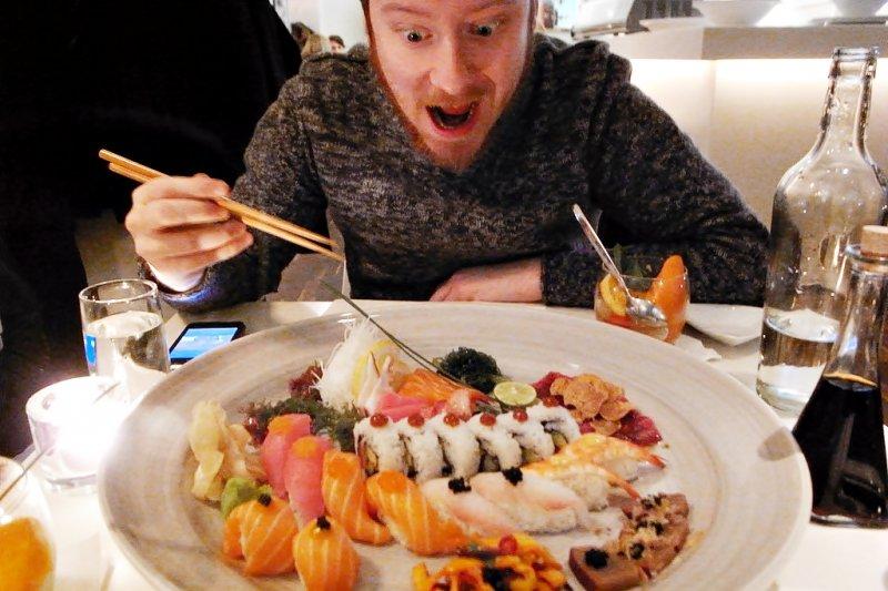讓美國人愛上壽司,是一段漫長而辛苦的過程(圖/JonAslund@flickr)