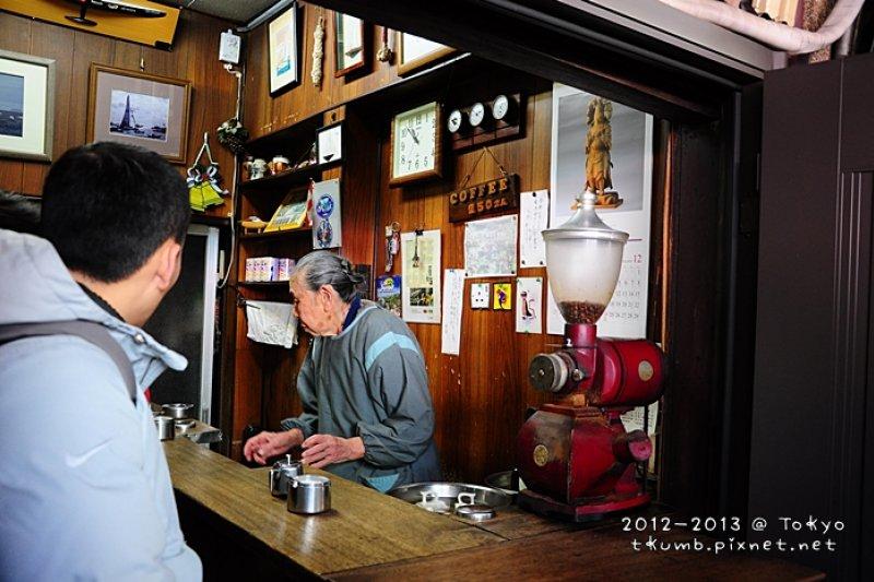 隱身築地市場這家小小的咖啡店,老闆有著最真誠的待客之心(圖/時光手帖)
