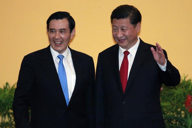 2015年11月7日馬習會,馬英九與習近平(美聯社)