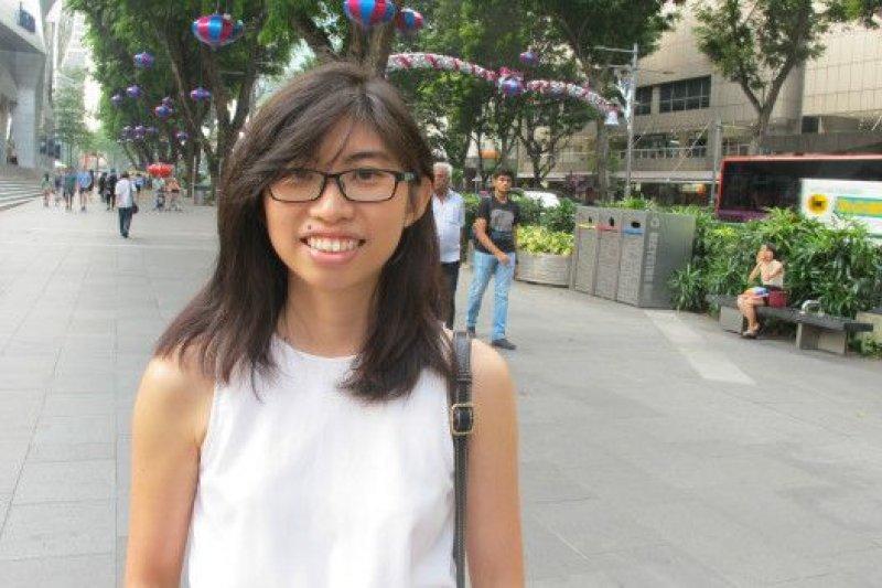 新加坡的李梅瑜對習馬會在獅城舉行有點驚訝。(BBC中文網)