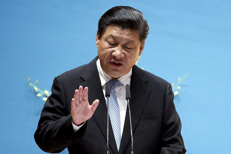中國國家主席習近平這兩年來用力打貪,卻被巴拿馬文件爆出姐夫擁有離岸公司。(美聯社)