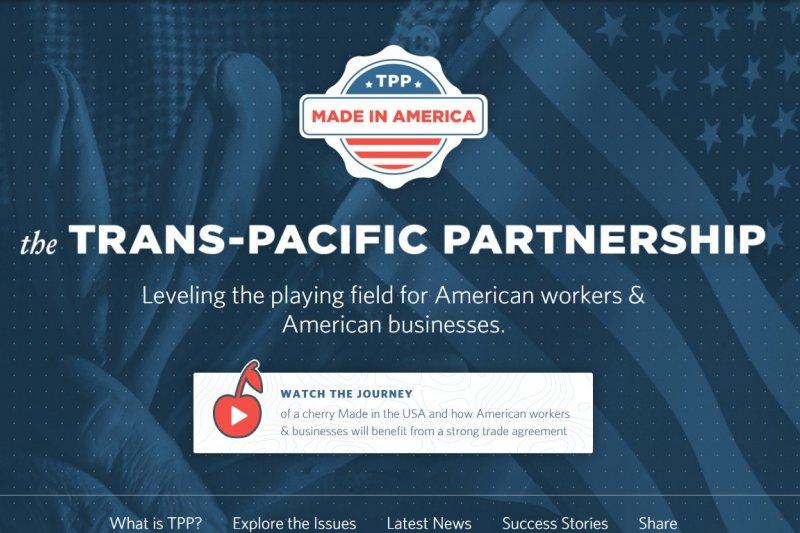 《跨太平洋夥伴協定》(TPP)