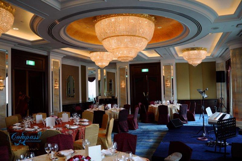 馬習會晚宴場地,新加坡香格里拉大酒店的「State Room」宴會廳(取自網路)