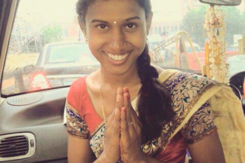 印度首位第三性警官普蕾卡‧雅詩妮(K Prithika Yashini)。(取自推特)