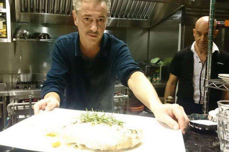 兩位羅馬人把義大利餐館開在迪化街。(取自La Lupa經典母狼臉書)