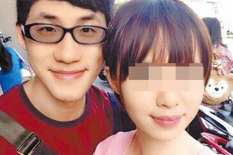 綽號「台大宅王」的張彥文(左),因為不滿女友提分手,當街砍死女友。(取自Peter Chang臉書)